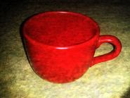 Big Red Coffee Cup